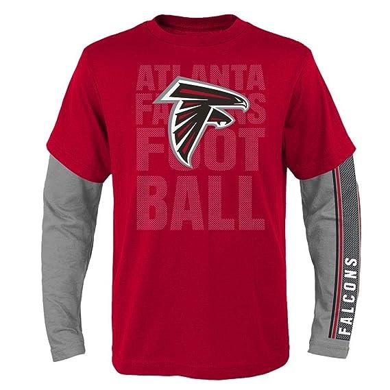 d3c7f410b Amazon.com   Outerstuff Youth Boys Atlanta Falcons Tee Shirt NFL 3 in 1  Combo   Sports   Outdoors