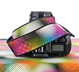 Camera Strap, dSLR, SLR, Mirrorless, Good Vibrations Rainbow 163