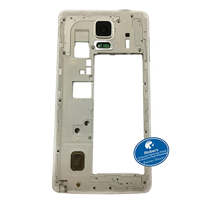 Rinbers - Marco de Carcasa Trasera para Samsung Galaxy Note ...