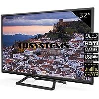 Televisores LED 32 Pulgadas TD Systems K32DLM10H. 2X HDMI, VGA, USB Grabador Reproductor, DVB-T2/C/S2