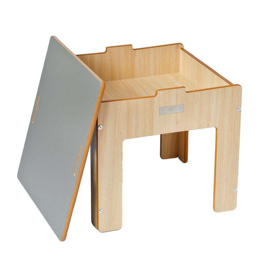 Luca & Co Grey Desk Funpit Table
