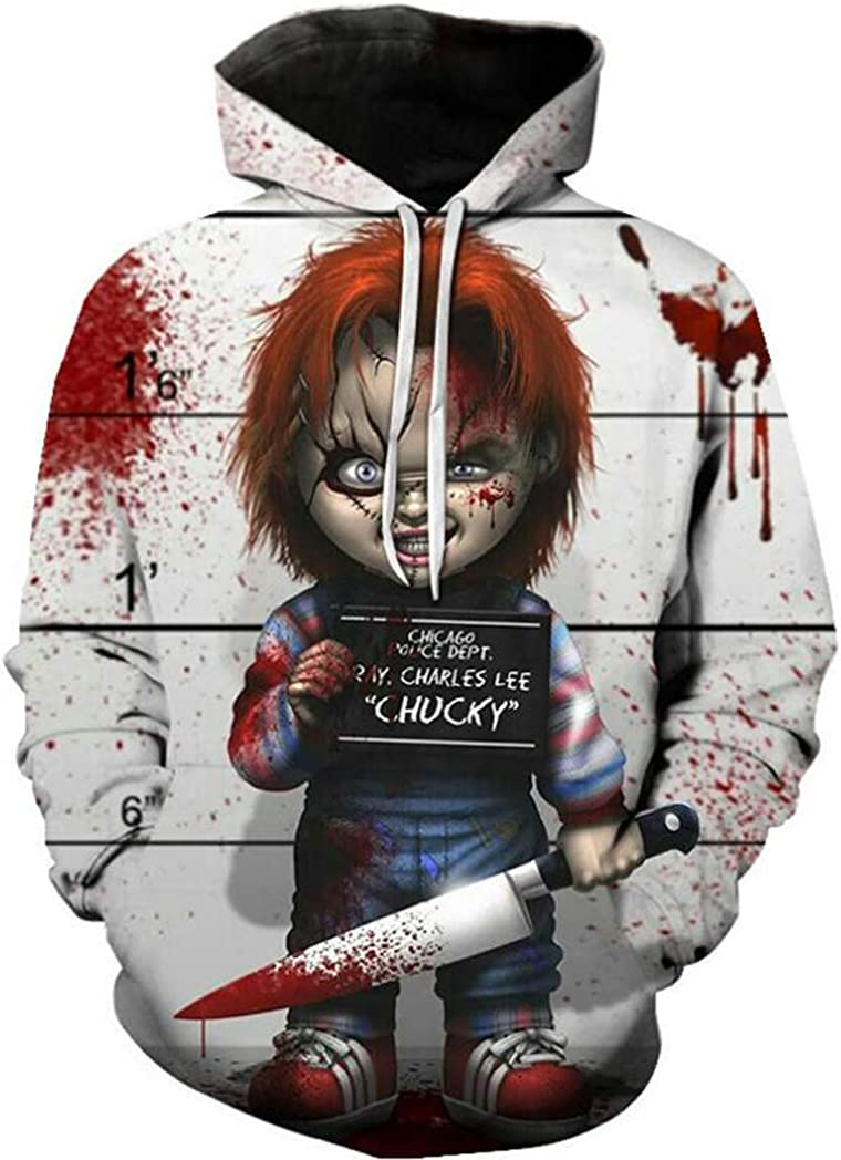 Harry Shops Halloween Holiday New8 Latest Style Unisex Horror LL Hoodie Costume