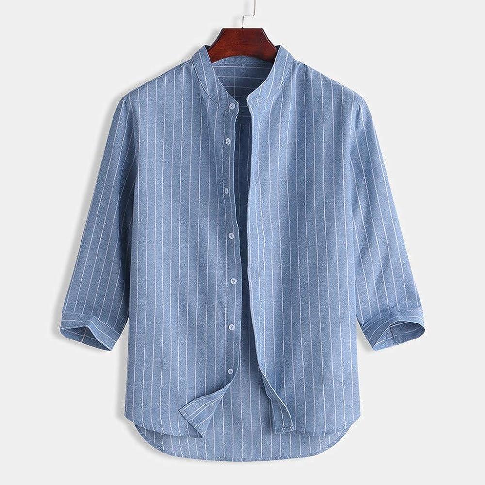 FossenHom Camisas de Hombre de Moda 2020 Camisas Hombre Fiesta Manga Corta - Shirts Polos Men: Amazon.es: Ropa y accesorios