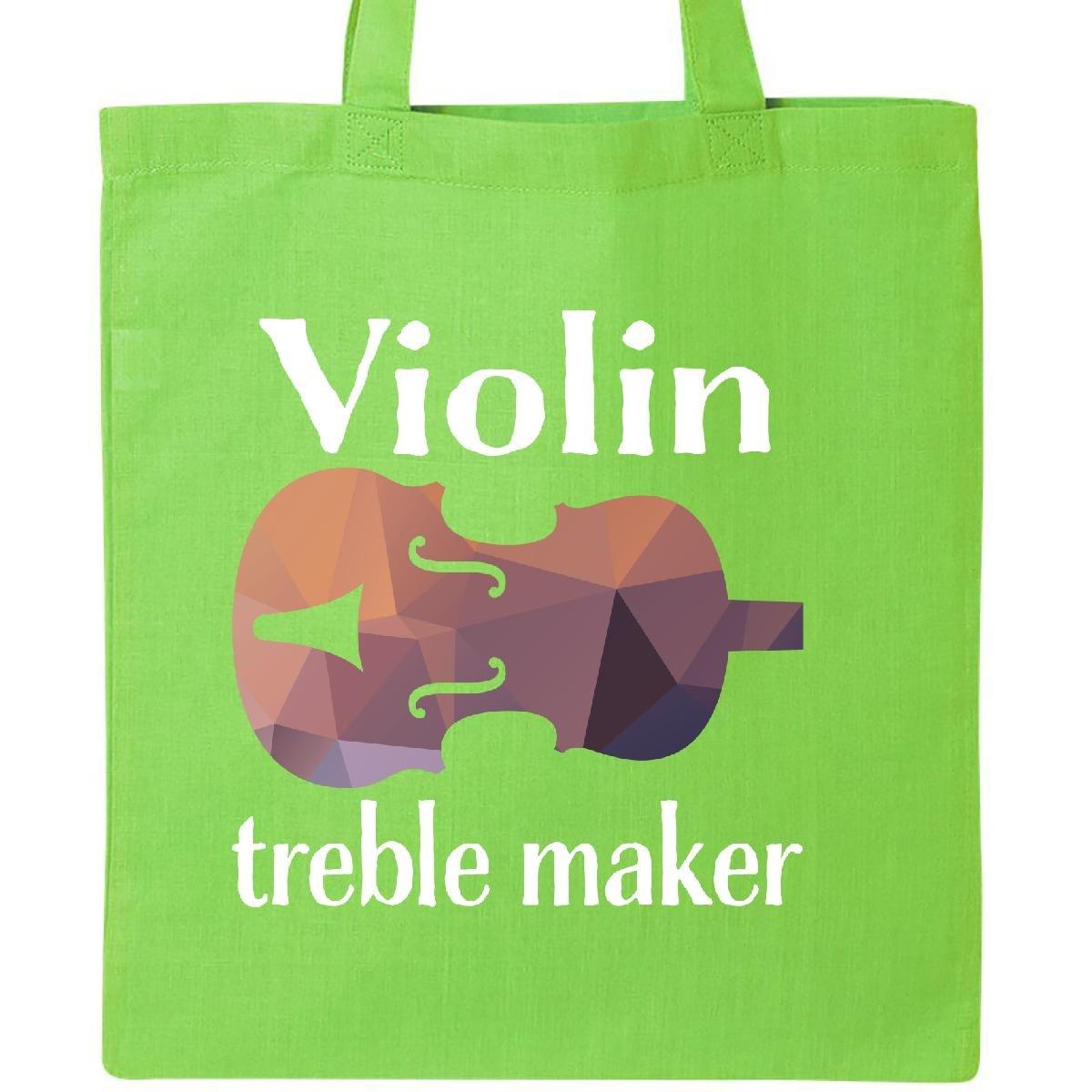 【クーポン対象外】 InktasticバイオリンTreble Size Maker Funny Violinist音楽ギフトトートバッグ B072NYQ14Z One Size B072NYQ14Z Maker ライムグリーン, ペットコレクション:8a3542a5 --- arianechie.dominiotemporario.com