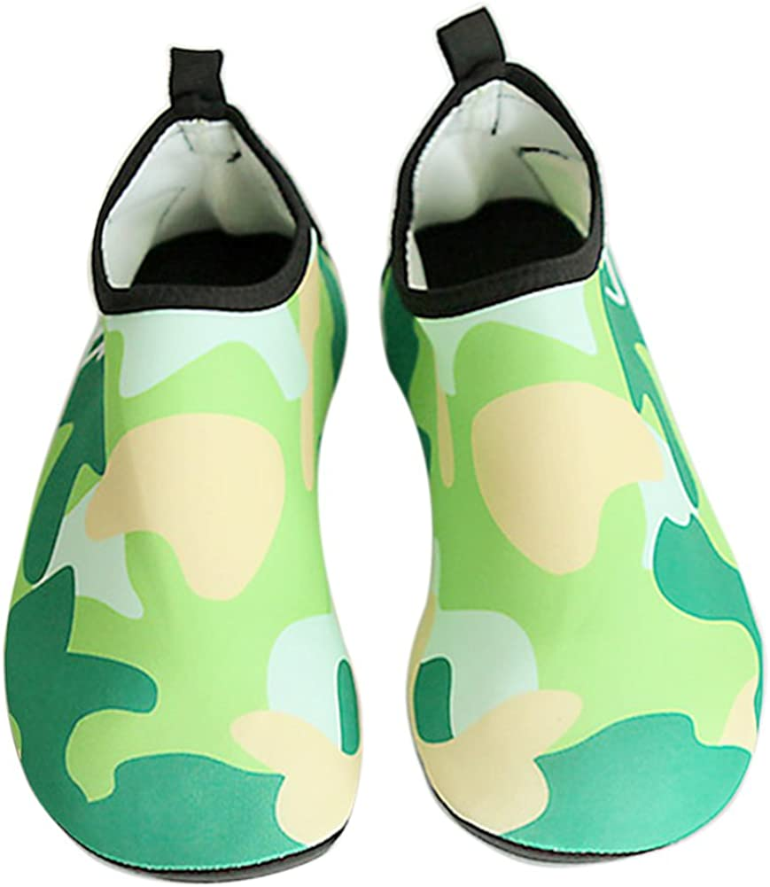 Boodtag Chaussures Enfant de Sport Aquatique Unisexe Chaussures de Plage Chaussettes Pliables pour Natation Plong/ée Surf Yoga Gymnase Piscine