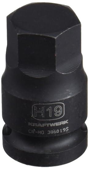 KS Tools 911.1308 1//2 Bit-Stecknuss Innensechskant kurz 8mm