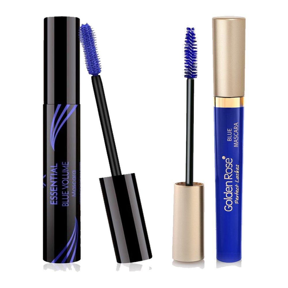 d3bd331ffb7 Amazon.com : Golden Rose Royal Blue Mascara 2 Pack : Beauty