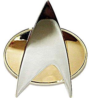Star Trek Next Generation Movie Uniform Communicator Pin Combadge Com Badge x2