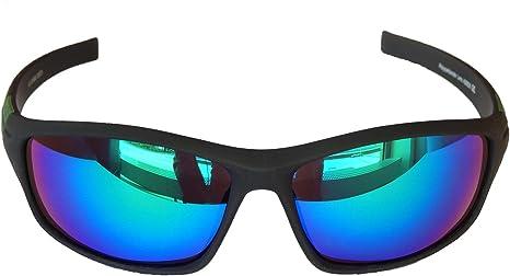 POINT Glissado Blau Sonnenbrille Fahrrad Fahrer Brille Radbrille Sportbrille