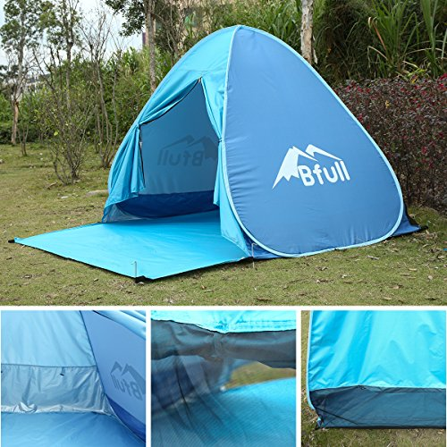 Tall Pop Up Shelter : Pop up tent bfull automatic portable beach with
