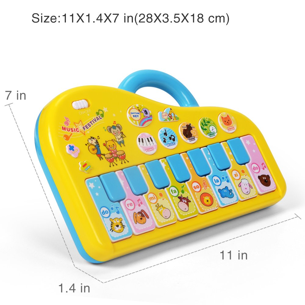 Piano Juguete Ni/ño para Aprendizaje Educativo NextX Piano Bebe Piano M/úsica Infantil para Beb/és Peque/ños Ni/ños Ni/ñas