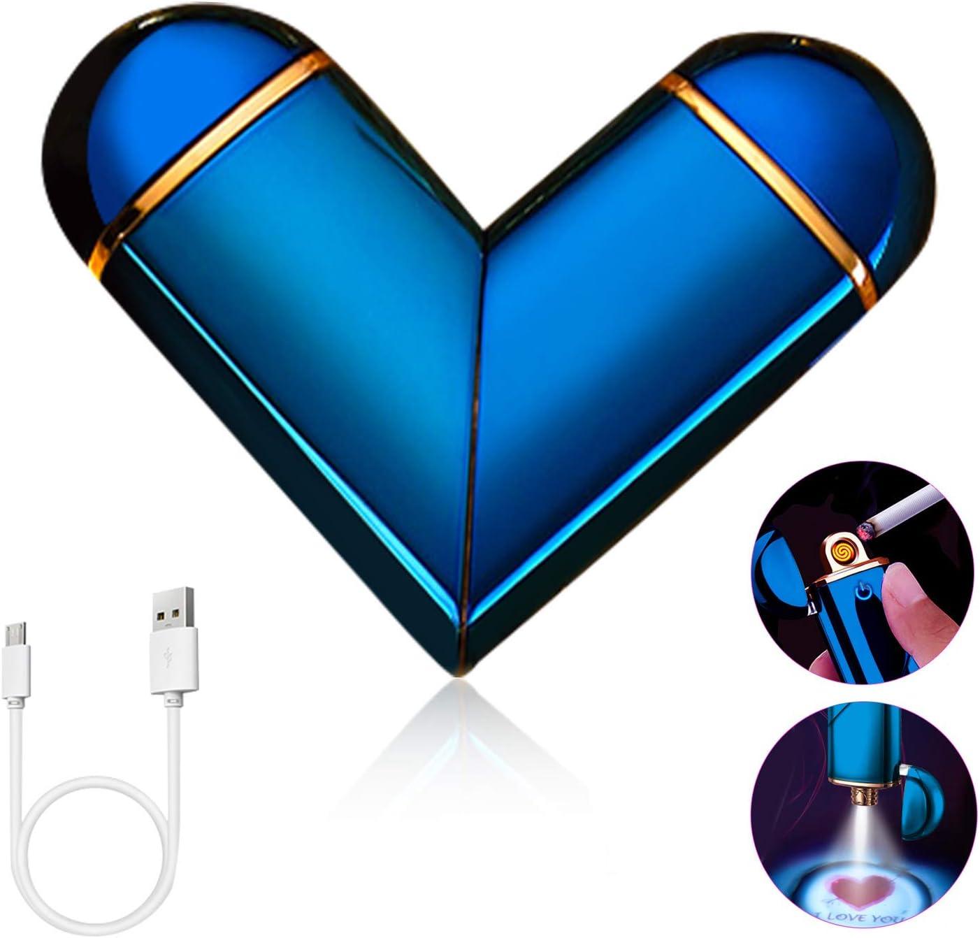 accendino elettronico Airless colorato Usb accendino ricaricabile Chutoral Accendino USB ricaricabile senza fiamma