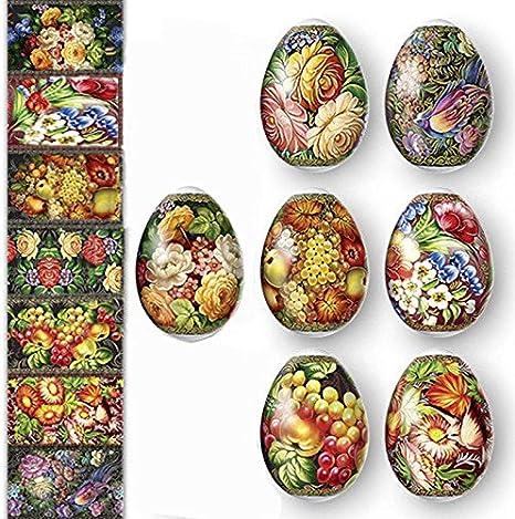 Easter Egg Shrinking Wraps Love Hearts