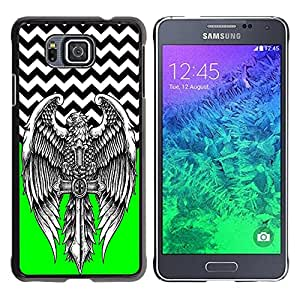 Dragon Case - FOR Samsung ALPHA G850 - Goes all the way - Caja protectora de pl??stico duro de la cubierta Dise?¡Ào Slim Fit