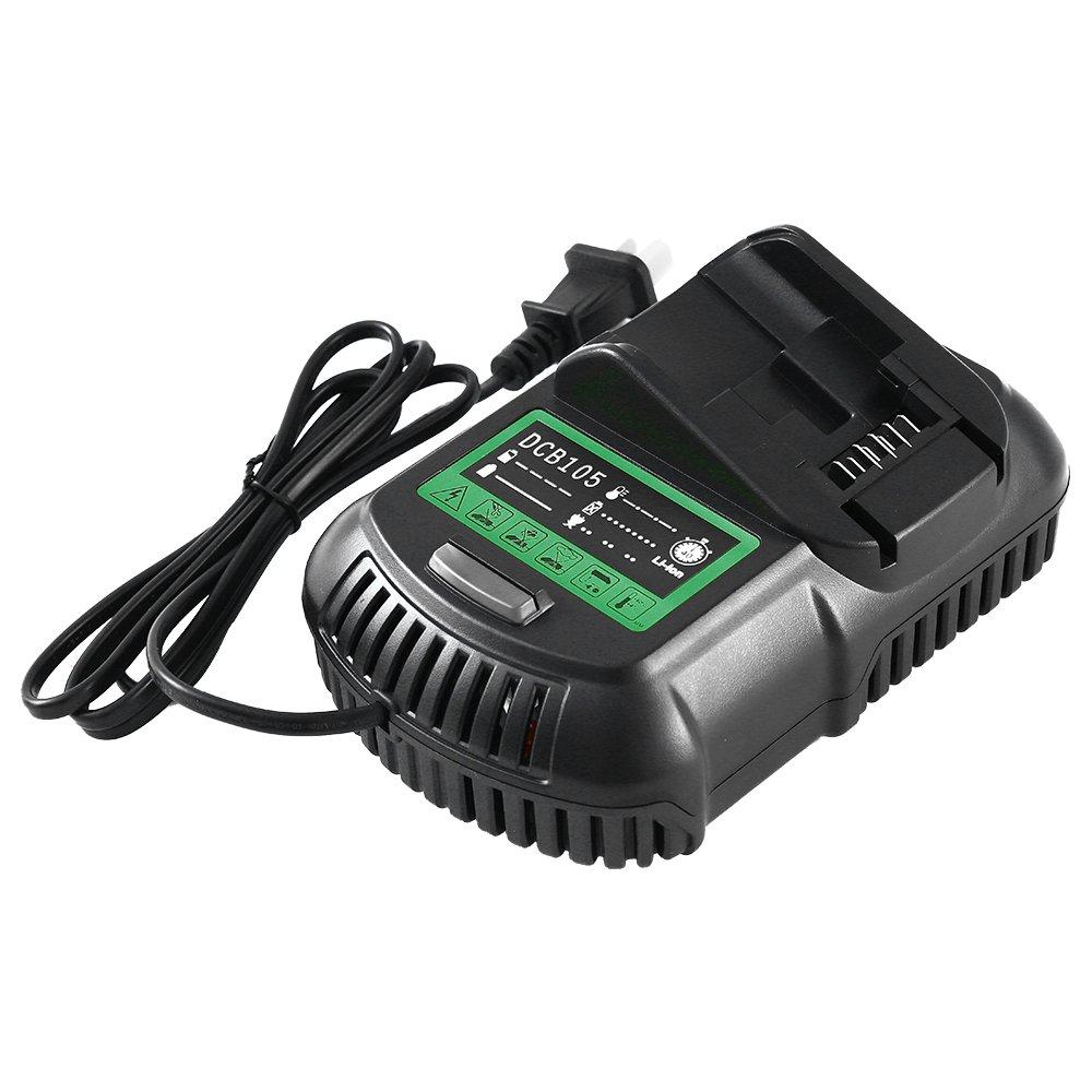 Replace for Dewalt Lithium-ion Battery Charger 12V ~ 20V MAX DCB101 DCB102 DCB107 DCB205 DCB112-SUN POWER
