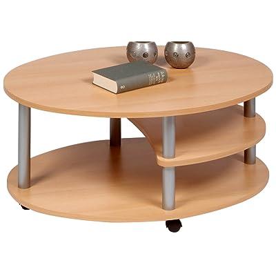 Hammary baja round cocktail table kitchen dining - Wohnzimmertisch oval ...