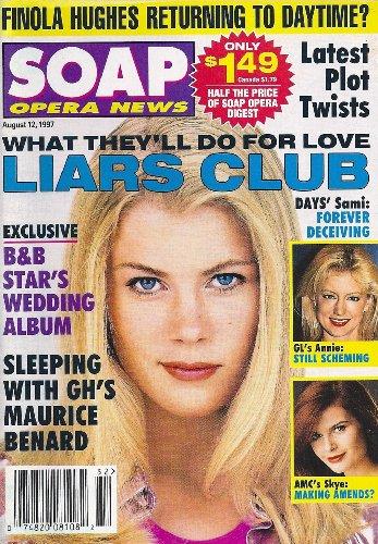 Alison Sweeney, Cynthia Watros, Carrie Genzel, Maurice Benard, Katherine Kelly Lang Commingling Album - August 12, 1997 Soap Opera News Magazine
