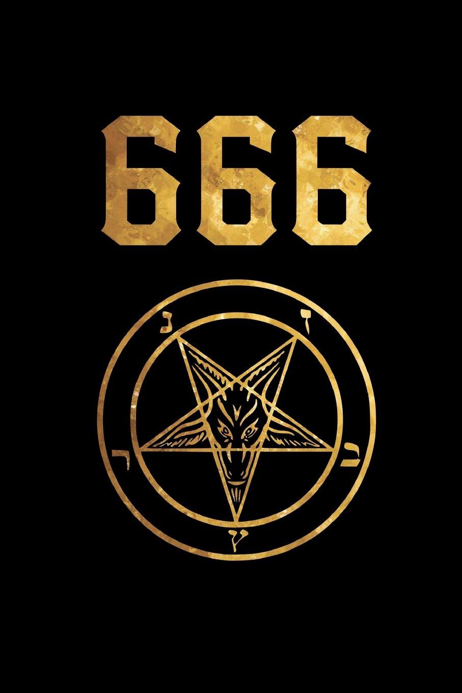 20 Gold Satanic Pentagram   Devil Sigil   College Ruled Lined ...