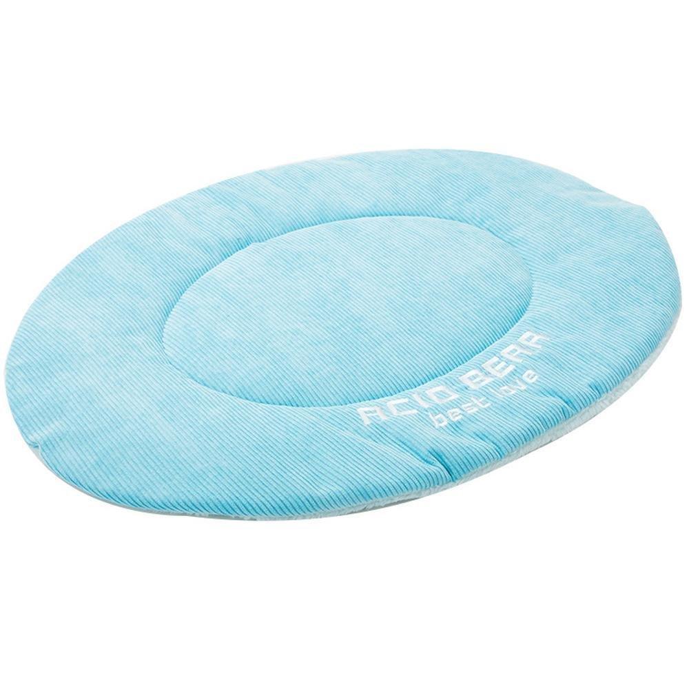 A 48x40cm A 48x40cm YunYilian Pet Bolster Dog Bed Comfort Dog mat (color   A, Size   48x40cm)