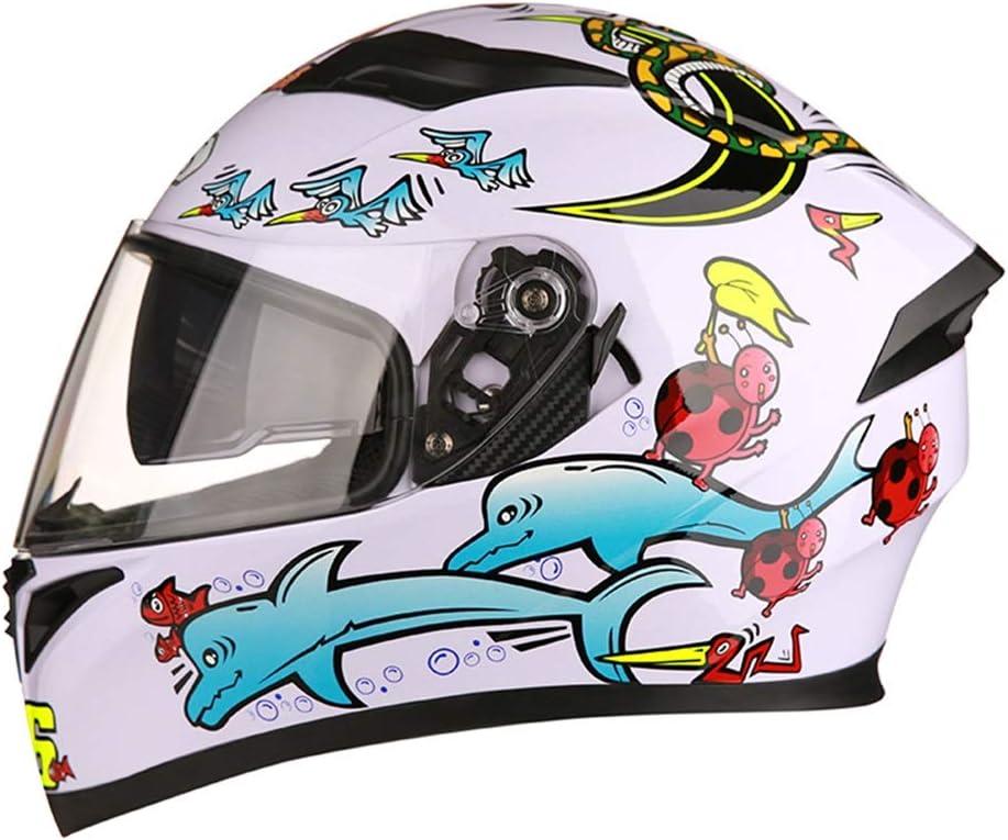 SGLI グラフィティヘルメット、ABS頑丈な機関車用ヘルメット、フルシーズンヘルメット ヘルメット (Color : B, Size : M) B Medium