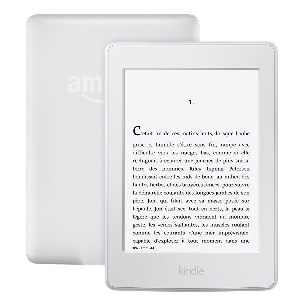 """Kindle Paperwhite  (Génération précédente - 7ème), Écran 6"""", Éclairage intégré et 3G + Wi-Fi, Blanc - Avec offres spéciales product image"""
