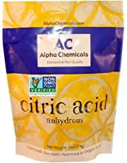 Non-GMO Project Verified Citric Acid - 5 Pounds
