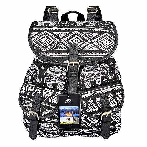 VBG VBIGER Canvas Backpack