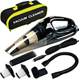 Car Vacuum, ANKO DC 12V 120W High Power Portable Handheld Car Vacuum Cleaner, Strong Suction, Wet & Dry Use, Quick Cleaning,