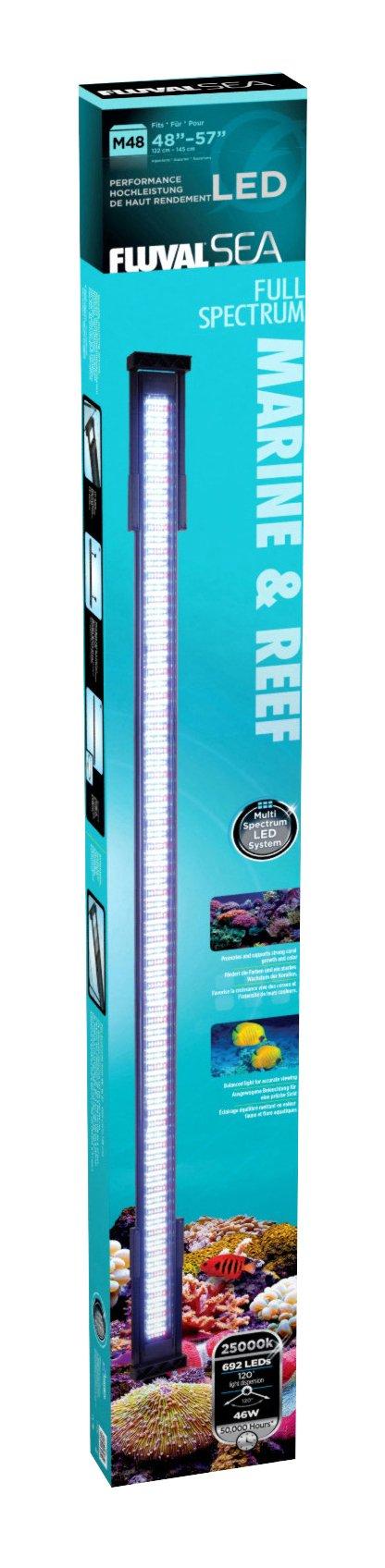 Fluval Led 48 Inch Marine Lamp 46 Watt Fluval Aquarium