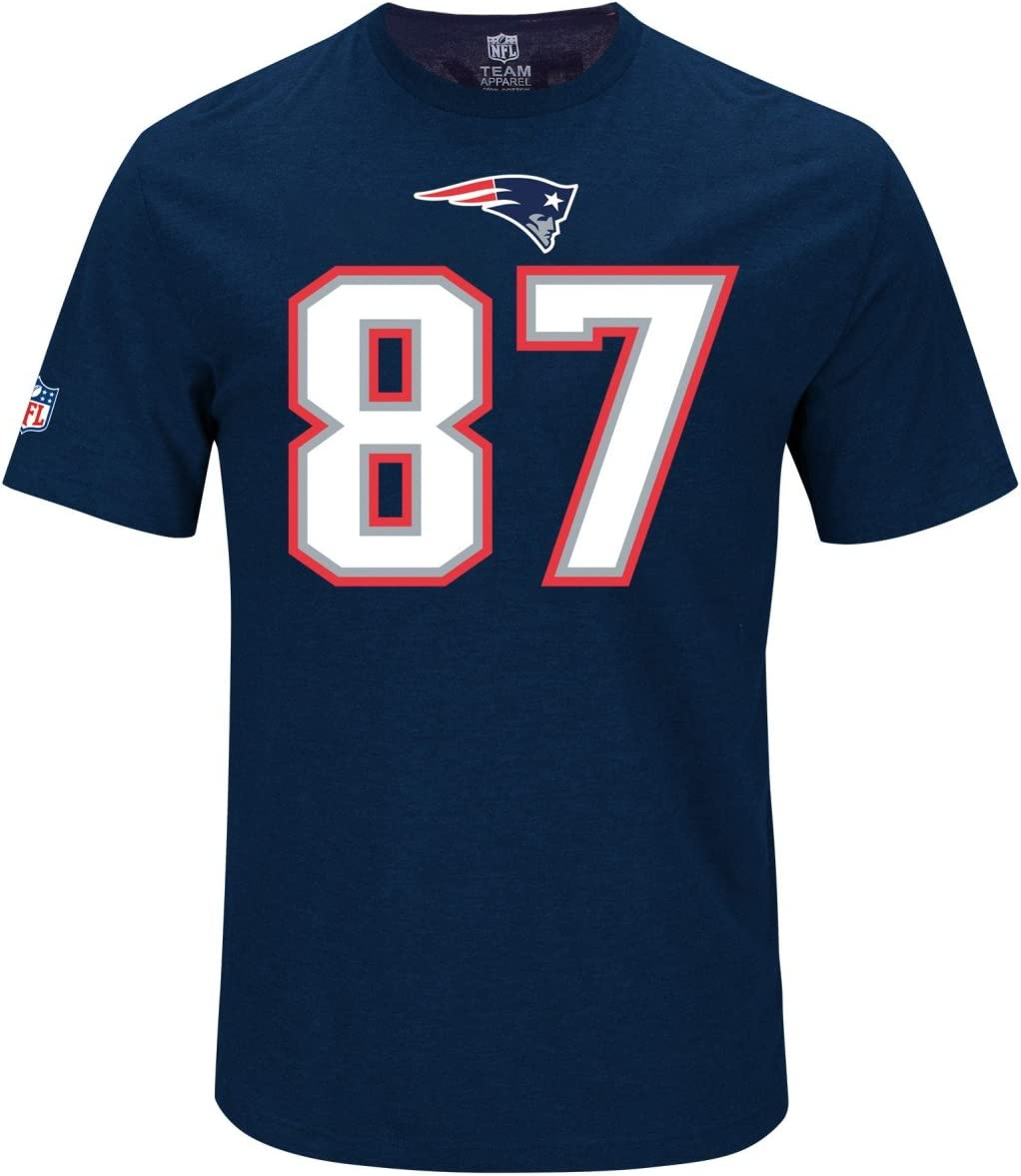 Majestic NFL Fan Shirt New England Patriots Rob Gronkowski
