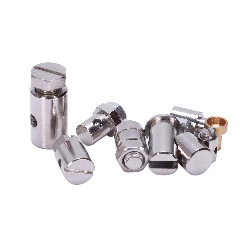TOOGOO Universal Inner Clutch Throttle Brake Cable Repair Kit Motorcycle Nipples