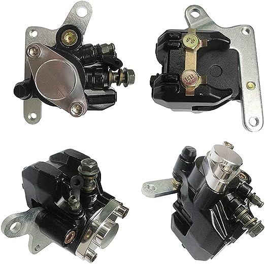 SHUmandala Rear Hydraulic Brake Caliper with Brake Pad for Honda Fourtrax TRX250 TRX250x ATC350X 1985-1992// Suzuki LT500R Quadracer 500 1987-1990//LT250R Quadracer 1985-1992//LTZ400 2003-2008