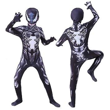 RunJuWuYe Disfraz de Venom para niños Cosplay de niños Superhéroe ...