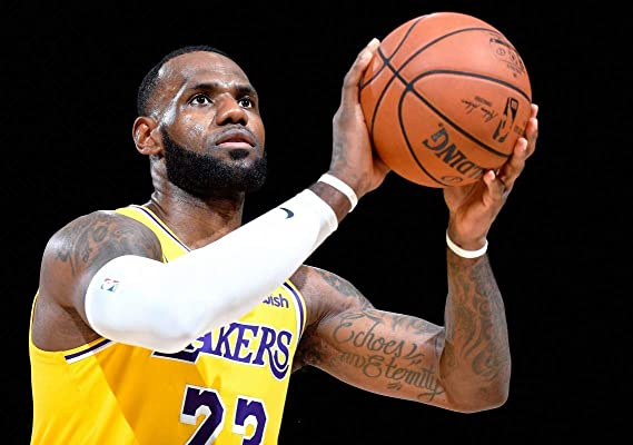 Desconocido Lebron James la Lakers NBA Baloncesto Póster 11823 (A3 ...