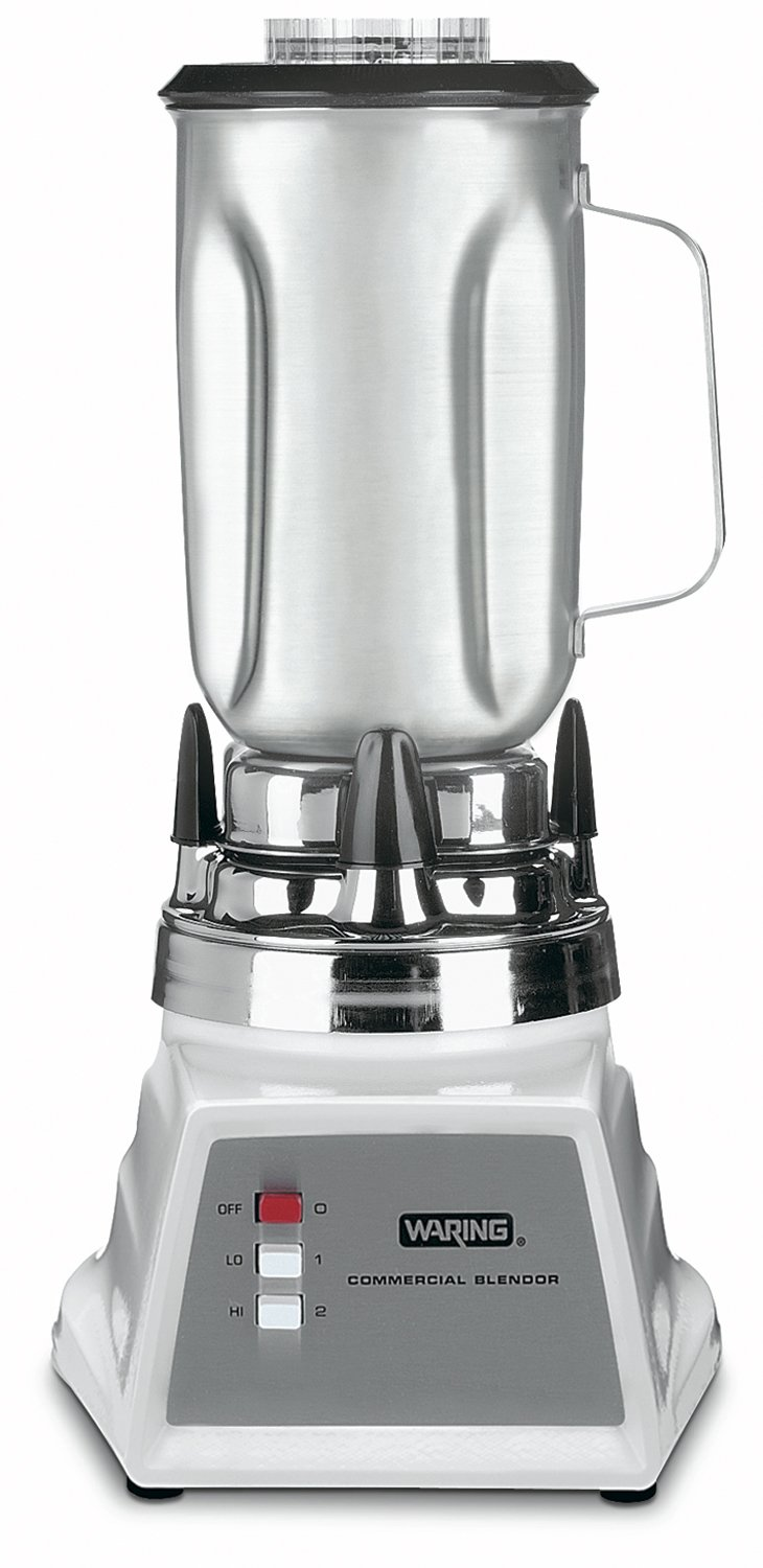 Waring Commercial 7011S 2-Speed Food Blender with Stainless Steel Container, 32-Ounce