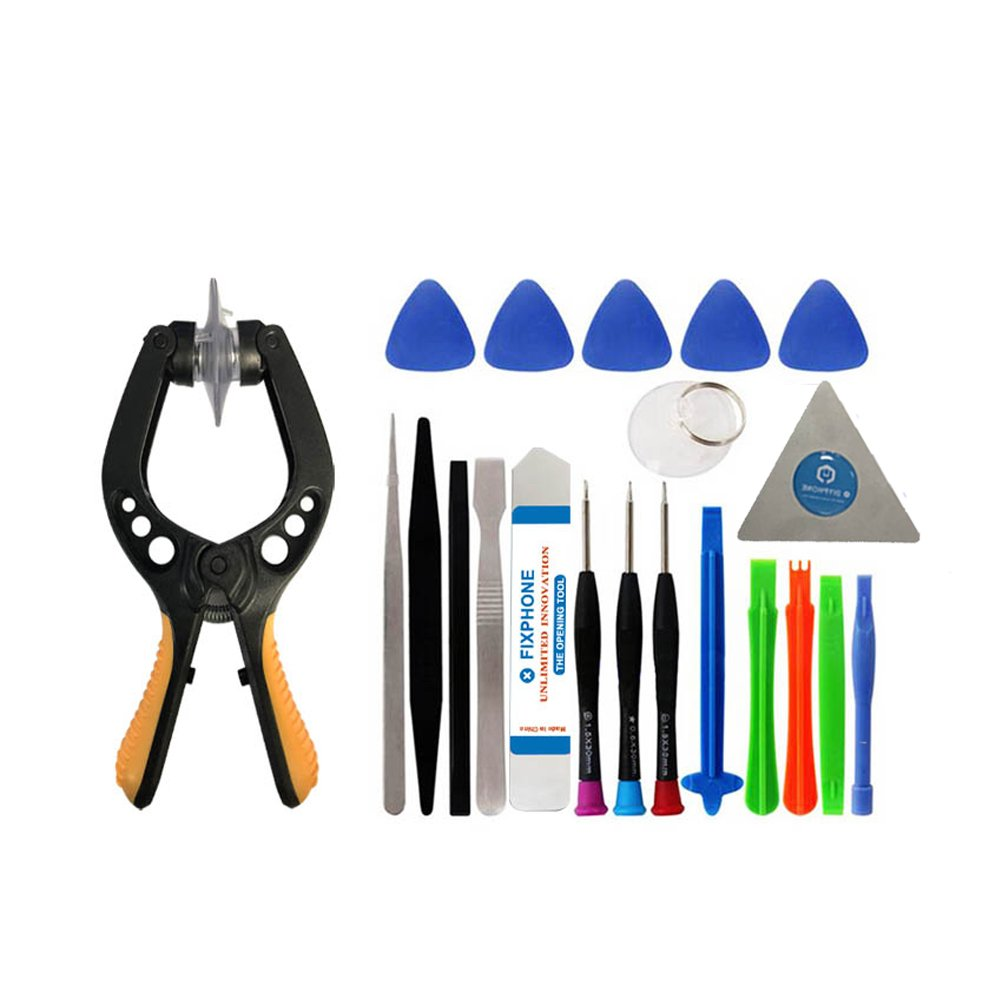 VIPFIX Multi-purpose Phone Opening Pry Tool Repair Kits Professional Phone Disassemble and Repair Tool Set for iPhone 6 Plus 7 7P Repair