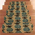 LiPing 5PCS 8.6×27.5in(22×70cm) Carpet Stair Treads- Non Slip/Skid Rubber Runner Mats Or Rug Tread-Indoor Outdoor Pet Dog Stair Treads Pads