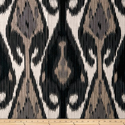 Lacefield Designs Global Market Uzbek Exclusive Smoke Fabric by The Yard ()
