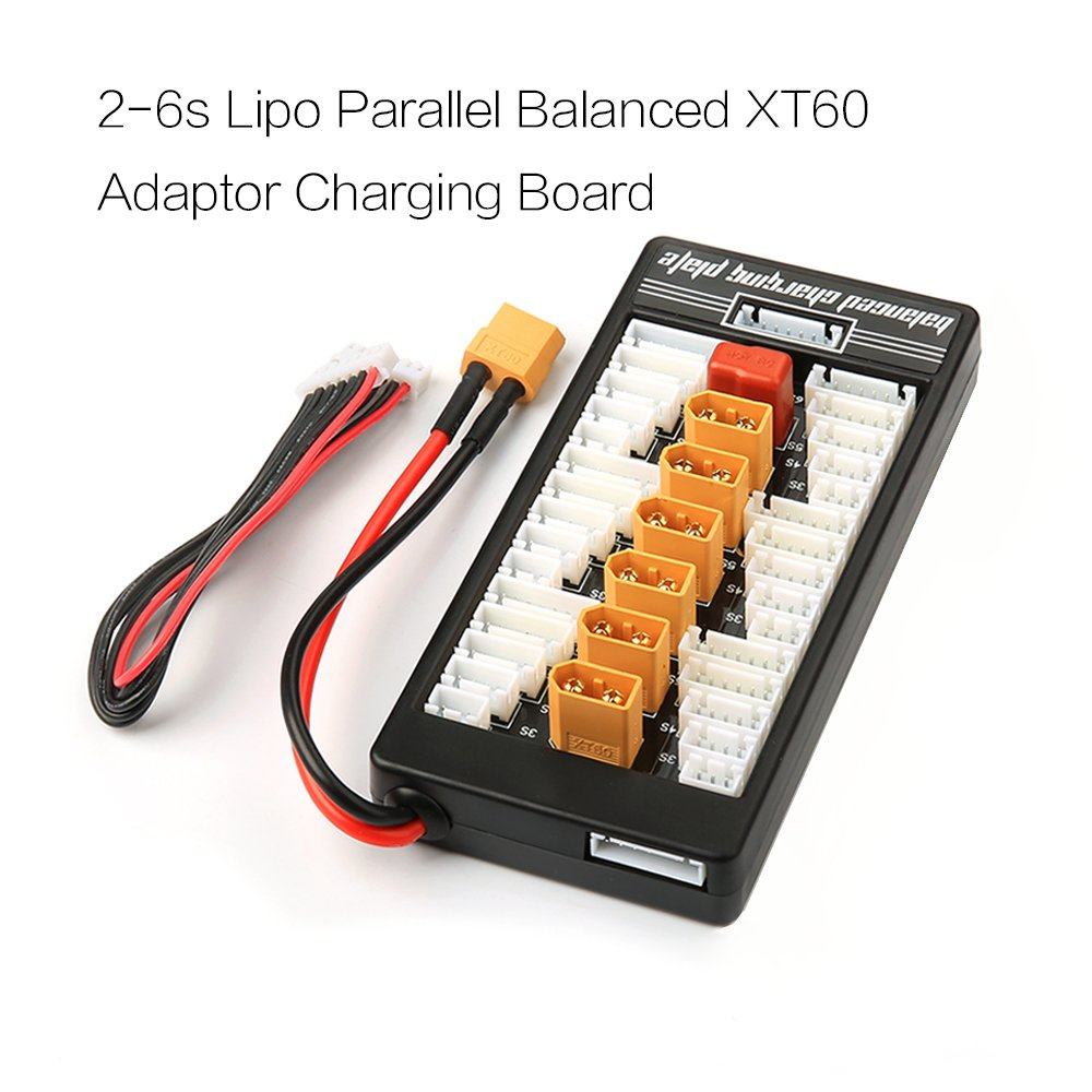 Nidici Xt60 Lipo Battery Charger 2 6s Parallel Balanced Wiring Batteries In Charging Board Plate For Imax B6ac 720i Lithium Part Toys