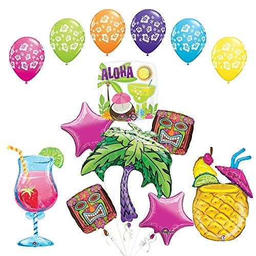 - Mayflower Products The Ultimate Luau Cocktail Party Supplies and Balloon Decorations