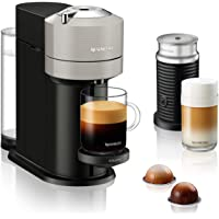 Krups XN911B Nespresso Vertuo Next Koffiecapsulemachine + Aeroccino melkopschuimer | 1,7 l watertank | capsuleherkenning…