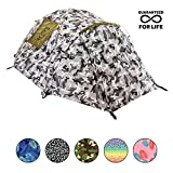 Backpacking Tent - Chillbo Baggins CHILLBO CABBINS Best 2 Person Tent with Cool Patterns ULTIMATE SUMMER CAMPING GEAR GIFT for Backpacking Car Camping Music Festivals Best Camping Tents for Family Sleeps 2-3