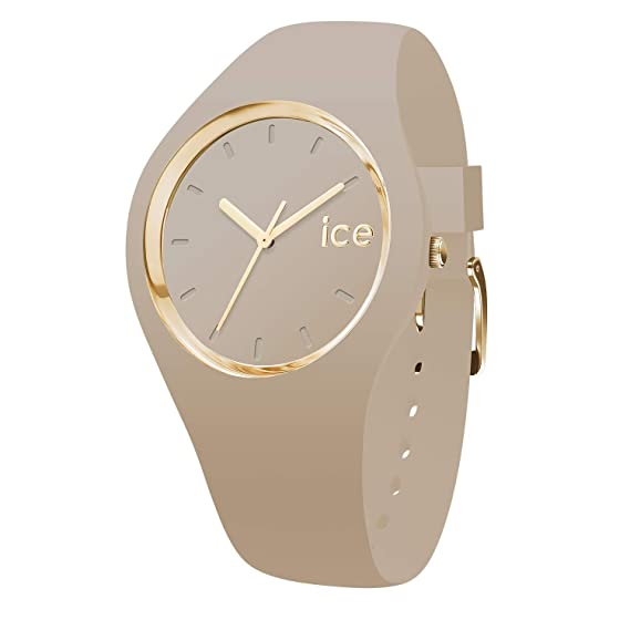 Ice Watch Ice Glam Forest Carribou Orologio Beige Da Donna Con Cinturino In Silicone