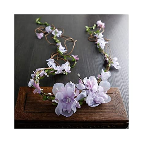 WHQ Diademas Garland Girls Regalo Creativo con Flores de ...