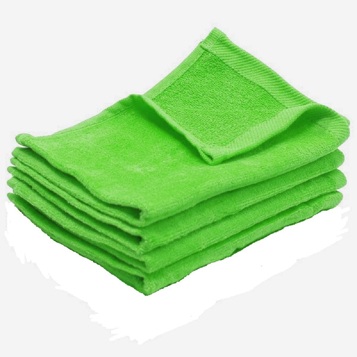 Show Car Guys Fingertip Towels Lime Green 11 x 18 100/% Cotton Terry-Velour.