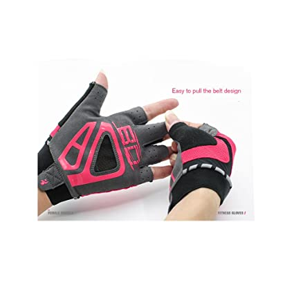 Amazon.com : BD Female Fitness Exercise Gloves Breathable ...
