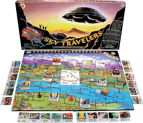 Family Pastimes Sky Travelers - A Co-operative Science Fiction Game