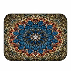 Printed Floor Mat Doormat Carpet Entrance Door Mats Soft Thin Non-slip Bathroom Living Room Kicthen Rugs