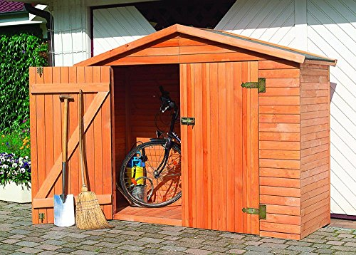Holz-Geräteschrank Heidelberg Gerätehaus Schuppen Schrank