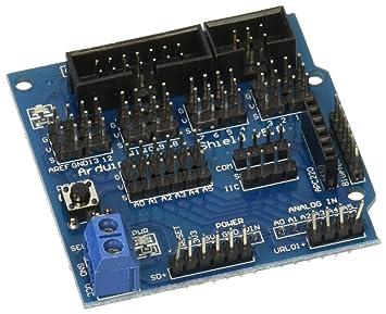 Módulo analógico Sensor Digital Shield servo motor para Arduino UNO R3 de MEGA V5: Amazon.es: Electrónica
